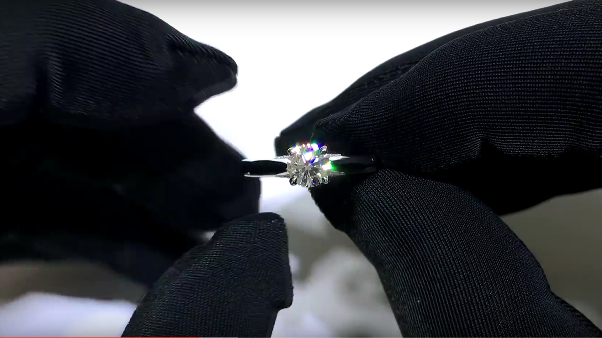 A Solasfera diamond ring
